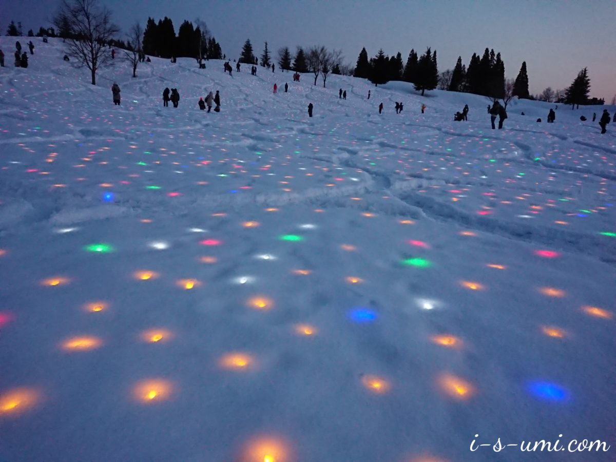 「大地の芸術祭の里」越後妻有 2019冬 SNOWART 雪花火 2