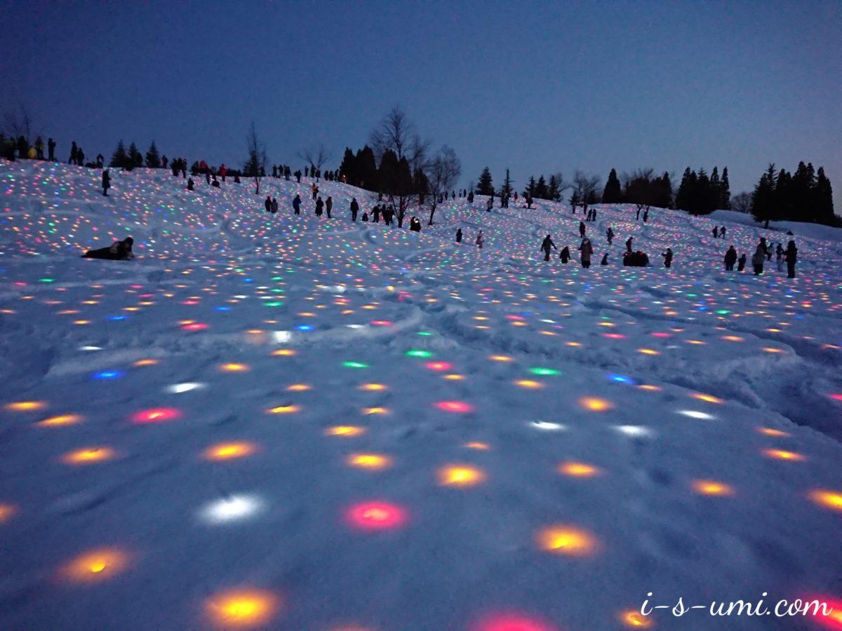 「大地の芸術祭の里」越後妻有 2019冬 SNOWART 雪花火 3