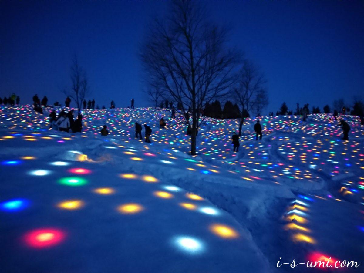 「大地の芸術祭の里」越後妻有 2019冬 SNOWART 雪花火 4