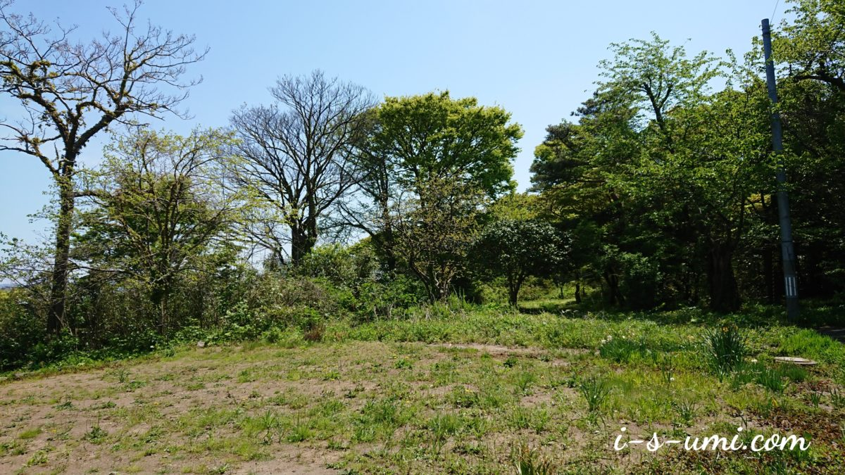 高台の土地(風の丘)令和元年5月