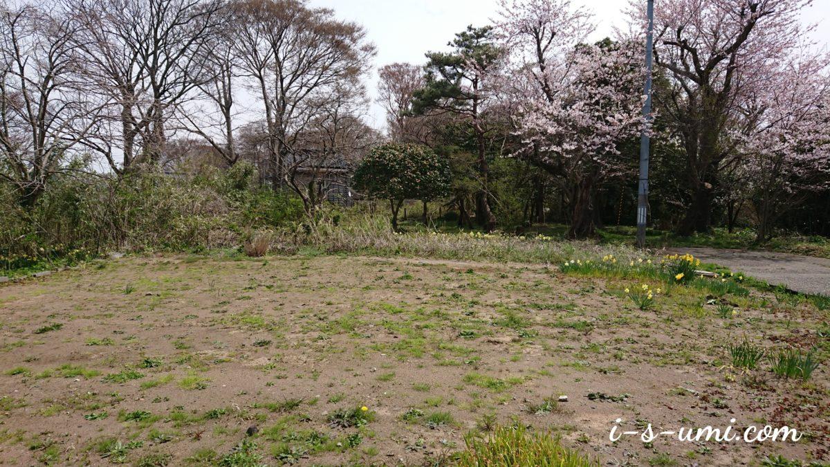 高台の土地(風の丘)令和元年4月