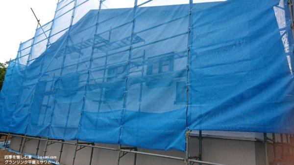 令和元年7月26日 着工から42日目の建築現場