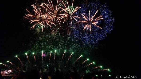 令和元年7月26日 海の花火大会