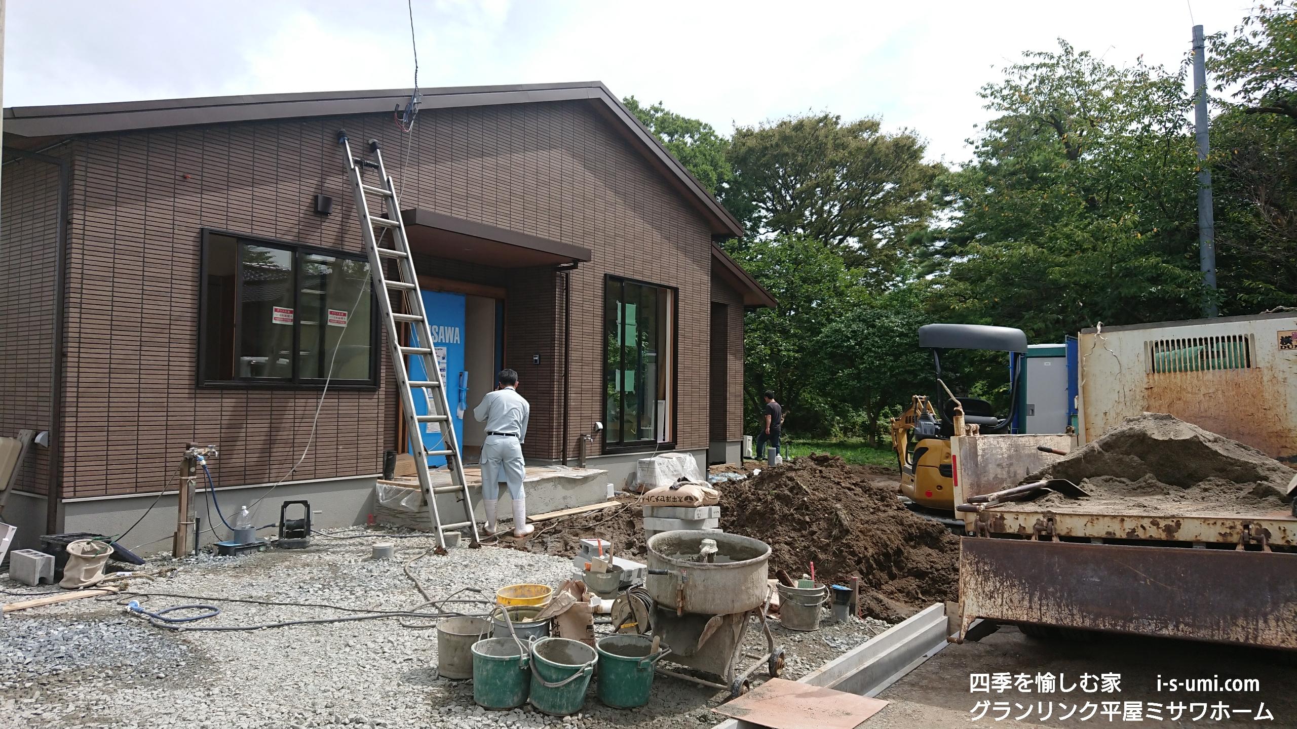 令和元年9月5日 着工から83日目の建築現場