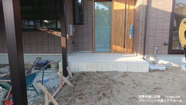 着工から88日目 令和元年9月10日の建築現場