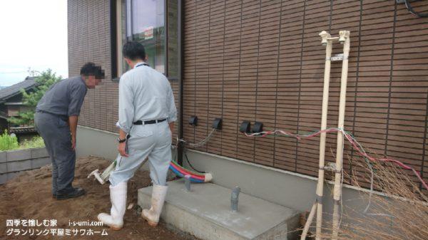着工から87日目 令和室元年9月9日の建築現場