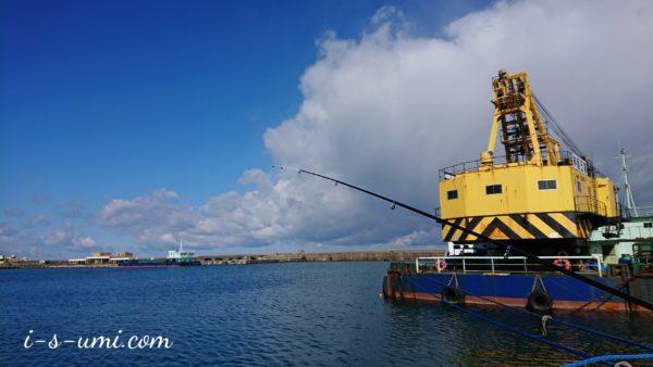 日本海の堤防釣り 2020.3.15