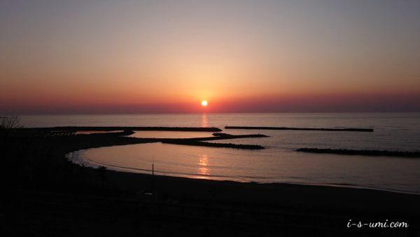 春の夕陽 2020.4.7