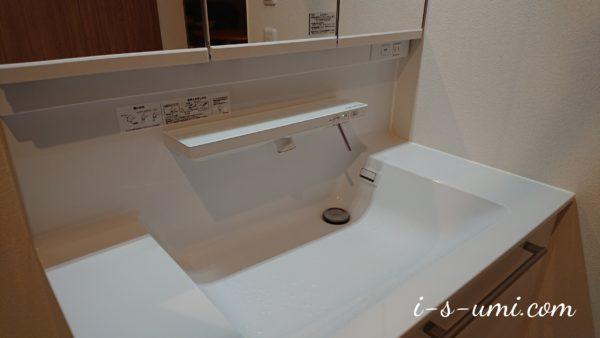 洗面化粧台TOTOオクターブ