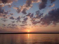 夕凪の日本海