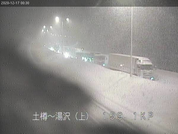 関越自動車道ライブカメラ2020.12.17