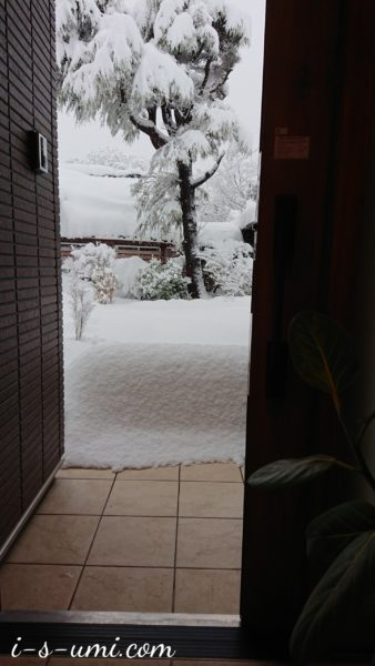 年明け寒波 2021.1.3