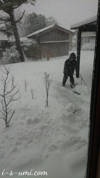 除雪作業 2021.1.8