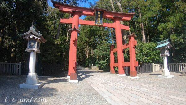 弥彦神社 一の鳥居 2021.3.24