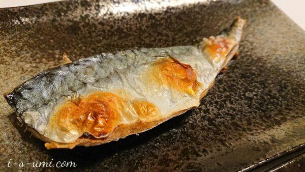 鯖の塩焼き 2021.4.13