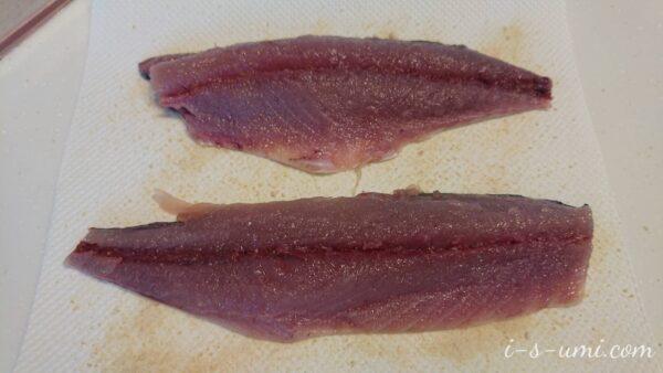 〆鯖の作り方 2021.4.18
