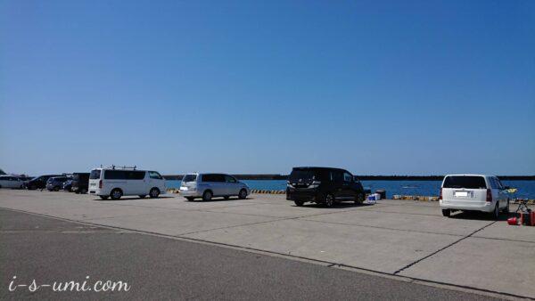 日本海の堤防 2021.4.13